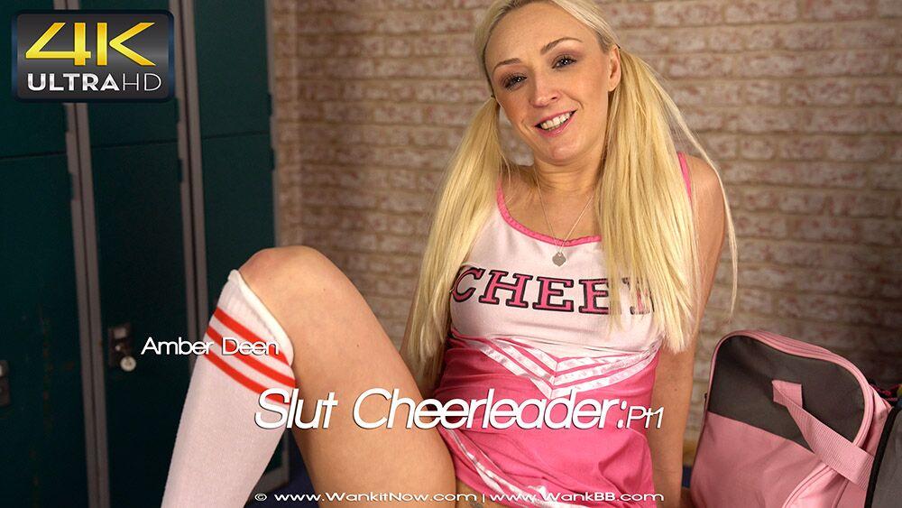Cute cheerleader slut